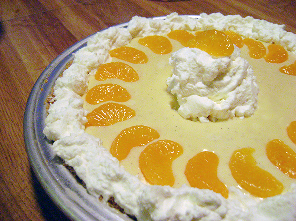 Finished Creamsicle Pie