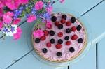 summer pie and flowersoverhead